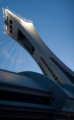 Olympic Stadium Tower Montreal